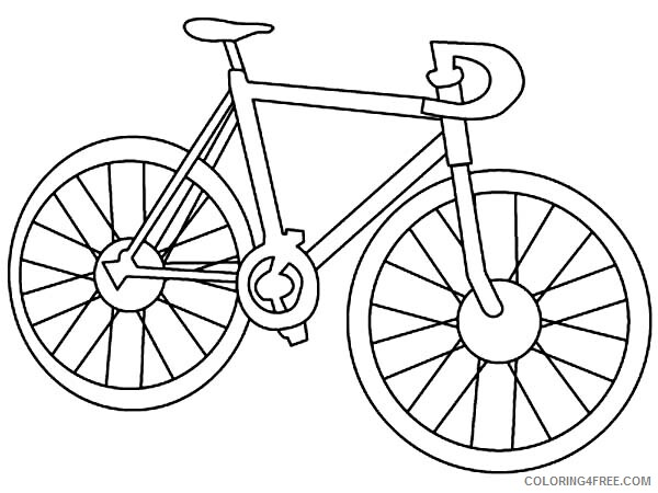 Bicycle Coloring Pages for Kids Racing Bicycle Printable 2021 067 Coloring4free