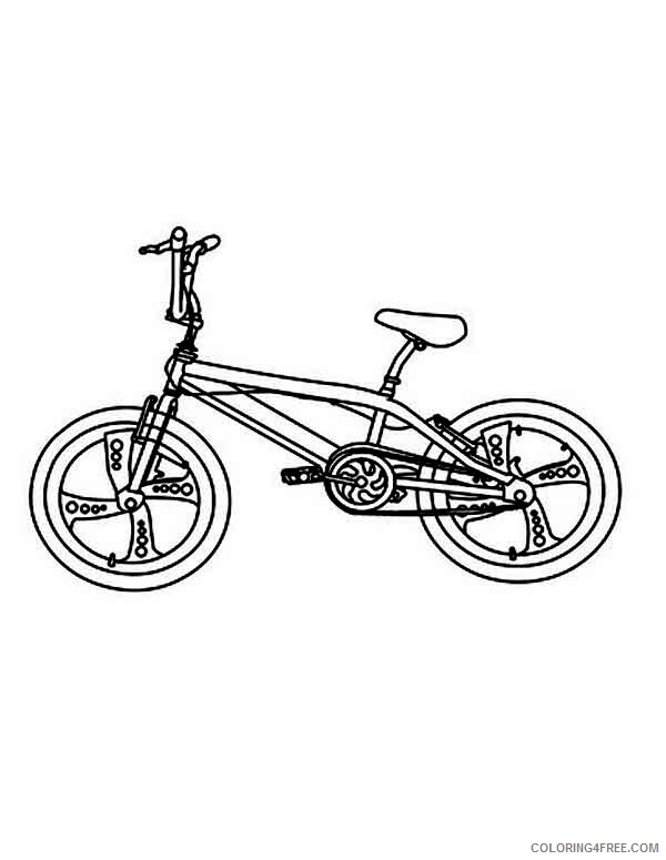 Bicycle Coloring Pages for Kids Touring Bicycle Printable 2021 071 Coloring4free