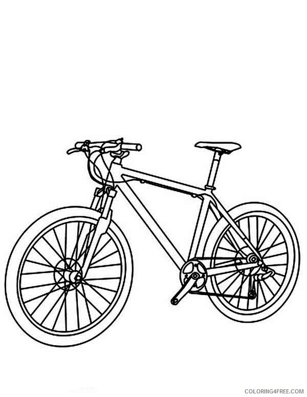Bicycle Coloring Pages for Kids Utility Bicycle Printable 2021 073 Coloring4free