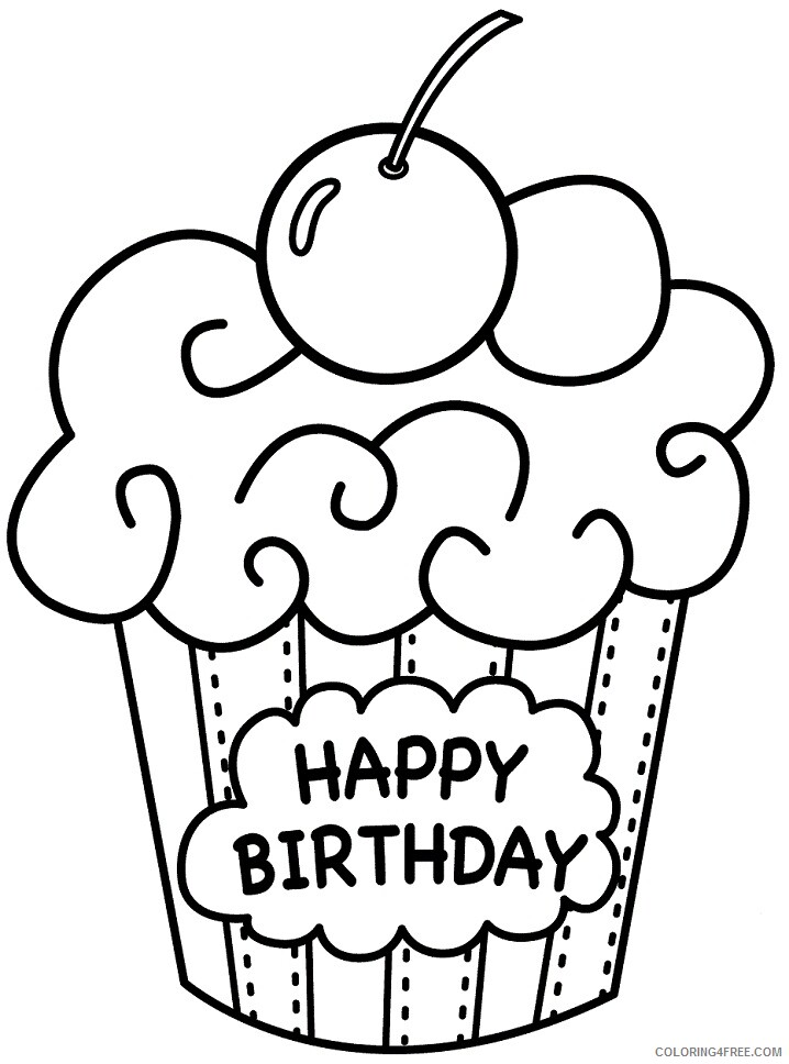 Birthday Coloring Pages Holiday 1586162281_fantastic birthday for mom free happy to kids Printable 2021 0003 Coloring4free