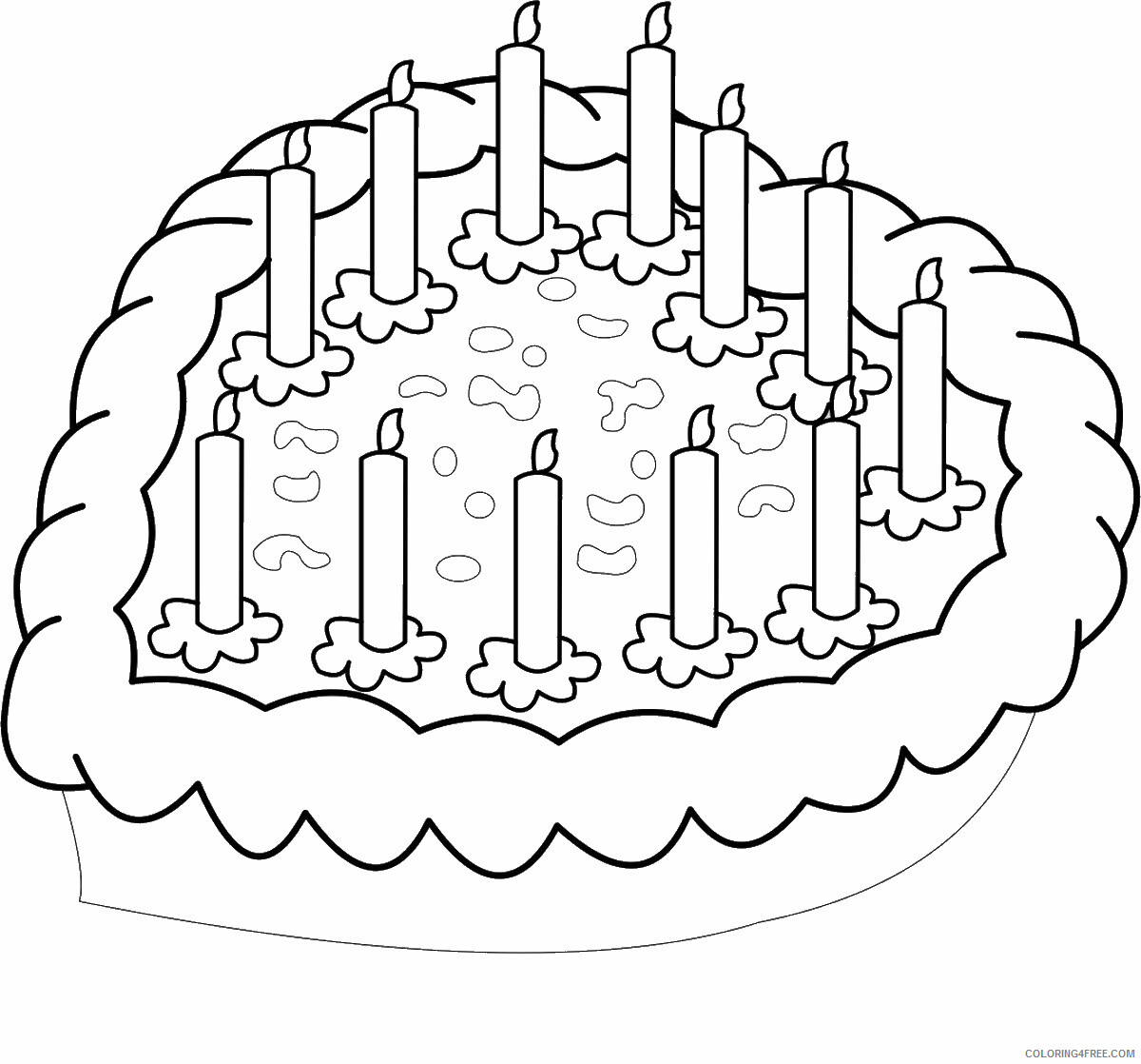 Birthday Coloring Pages Holiday birthday_cl_166 Printable 2021 0006 Coloring4free