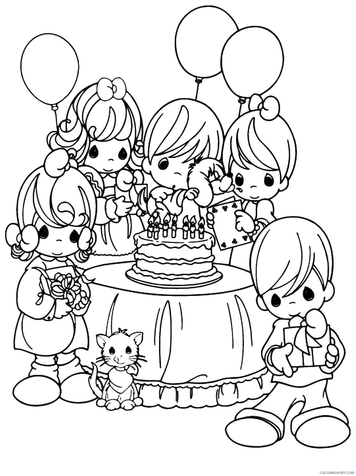 Birthday Coloring Pages Holiday birthday_cl_41 Printable 2021 0009 Coloring4free