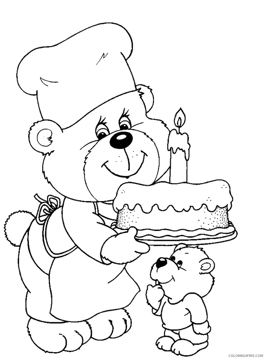 Birthday Coloring Pages Holiday birthday_cl_80 Printable 2021 0024 Coloring4free