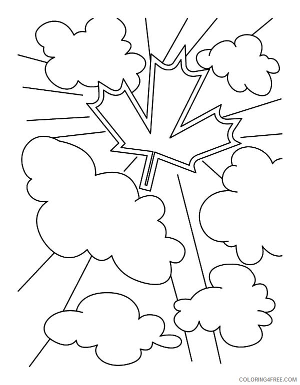 Canada Day Coloring Pages Holiday Canada Symbol for Canada Day Celebration Printable 2021 0047 Coloring4free