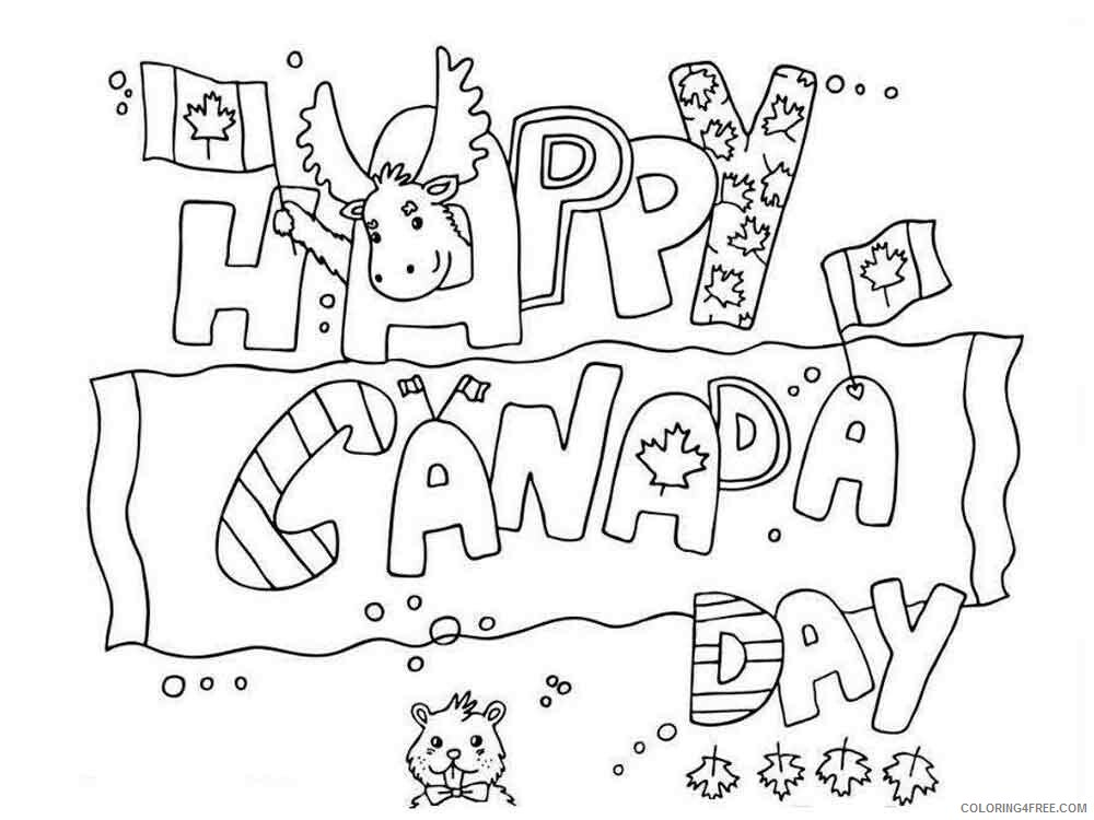 Canada Day Coloring Pages Holiday canada day 10 Printable 2021 0042 Coloring4free