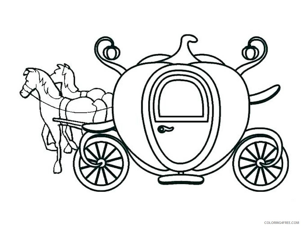 Carriage Coloring Pages for Girls Carriage 1 Printable 2021 0239 Coloring4free