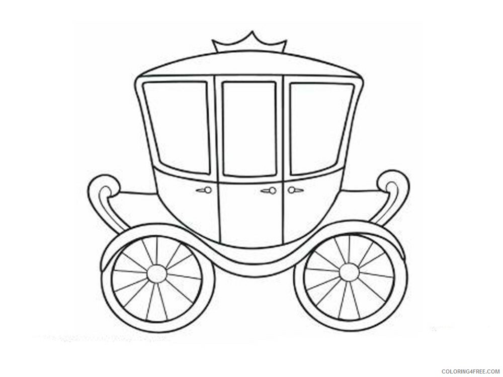 Carriage Coloring Pages for Girls Carriage 8 Printable 2021 0248 Coloring4free