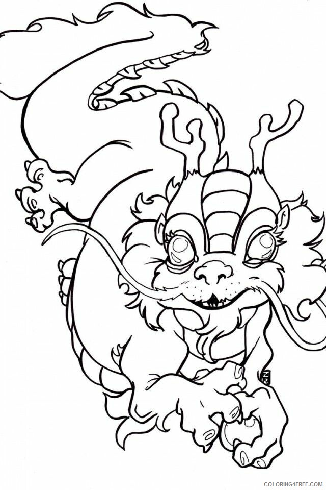Chinese New Year Coloring Pages Holiday Chinese New Year Printable 2021 0075 Coloring4free
