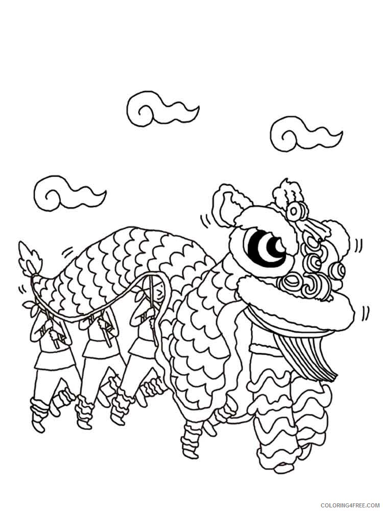 Chinese New Year Coloring Pages Holiday chinese new year 10 Printable 2021 0076 Coloring4free