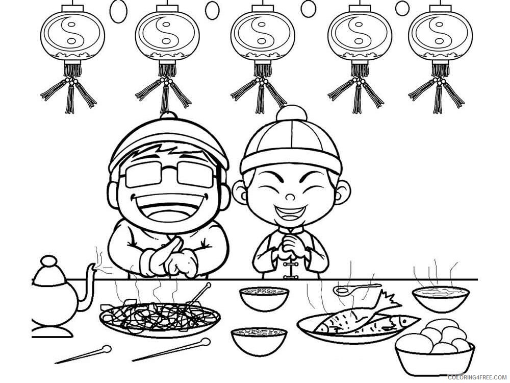Chinese New Year Coloring Pages Holiday chinese new year 5 Printable 2021 0078 Coloring4free