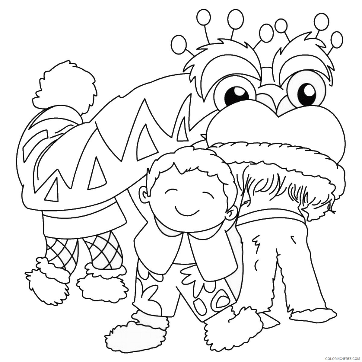 Chinese New Year Coloring Pages Holiday chinese_year_coloring11 Printable 2021 0061 Coloring4free