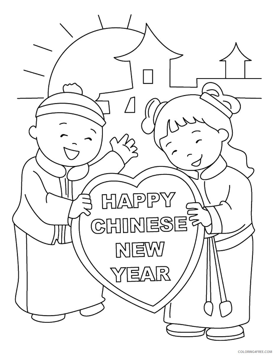 Chinese New Year Coloring Pages Holiday chinese_year_coloring22 Printable 2021 0071 Coloring4free