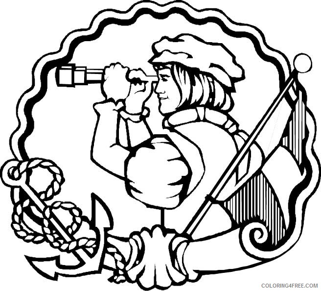 Columbus Day Coloring Pages Holiday Columbus Day Festival Printable 2021 0154 Coloring4free