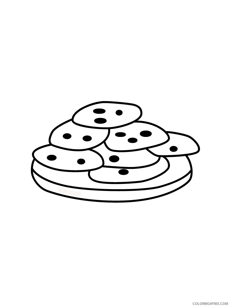 Cookie Coloring Pages for Kids Cookie 10 Printable 2021 086 Coloring4free