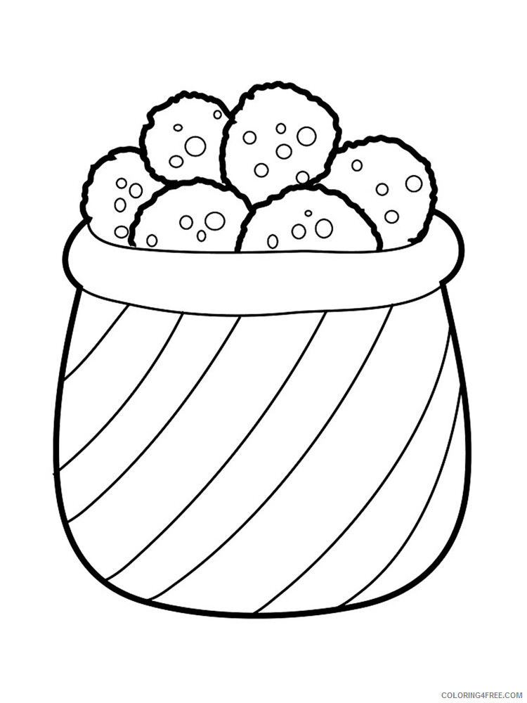 Cookie Coloring Pages for Kids Cookie 3 Printable 2021 089 Coloring4free