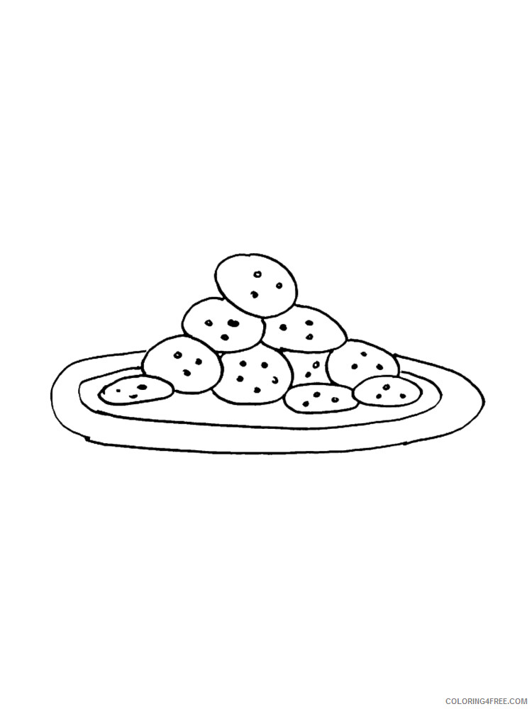 Cookie Coloring Pages for Kids Cookie 4 Printable 2021 090 Coloring4free