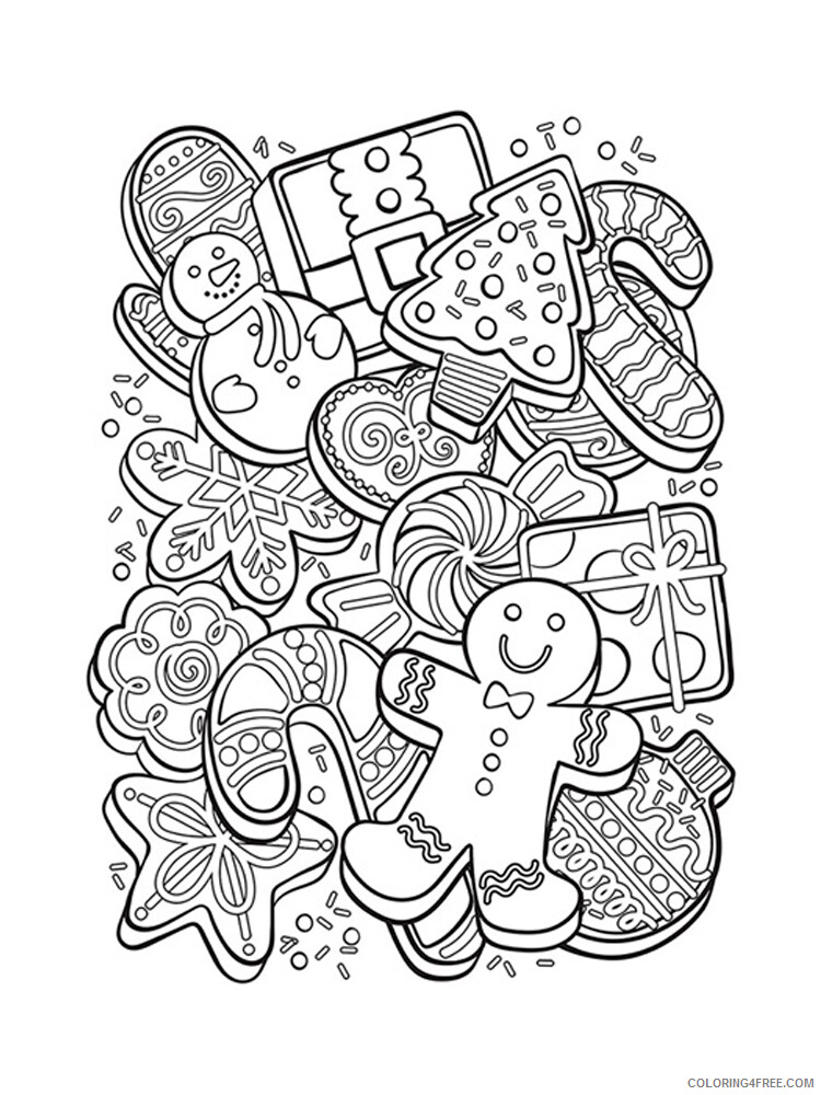 Cookie Coloring Pages for Kids Cookie 7 Printable 2021 091 Coloring4free