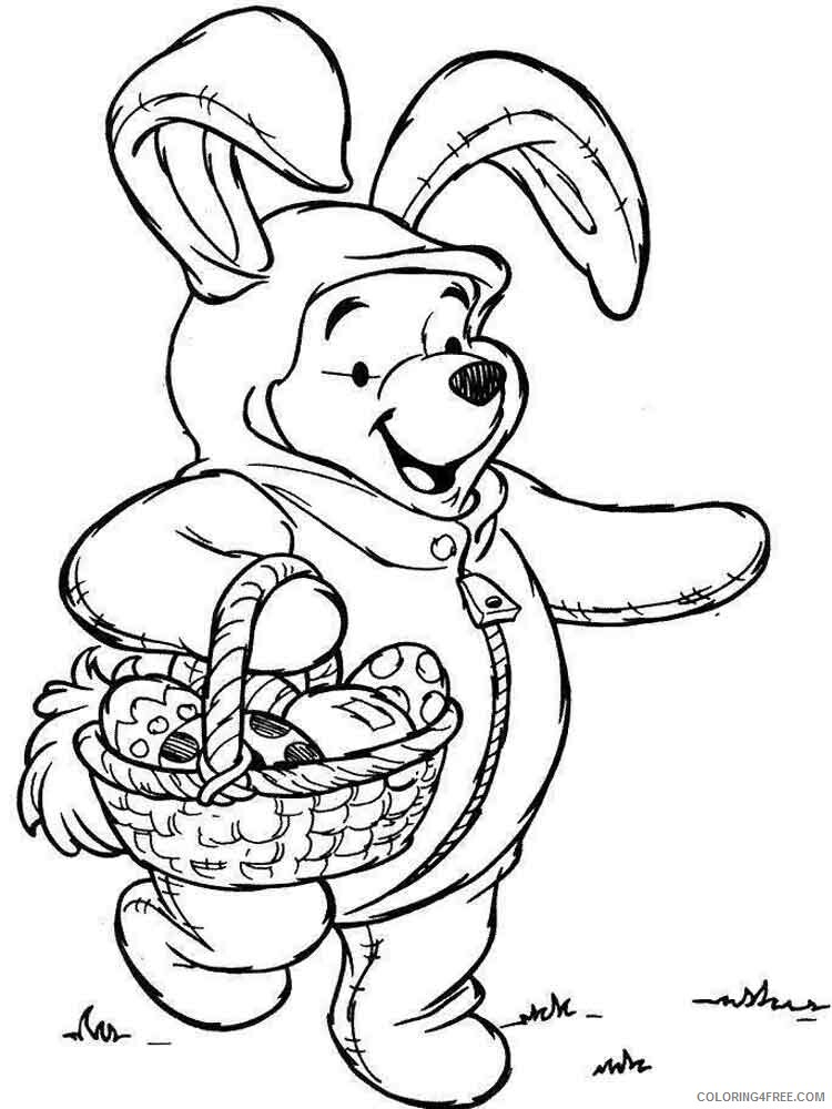 Disney Easter Coloring Pages Holiday disney easter 3 Printable 2021 0171 Coloring4free
