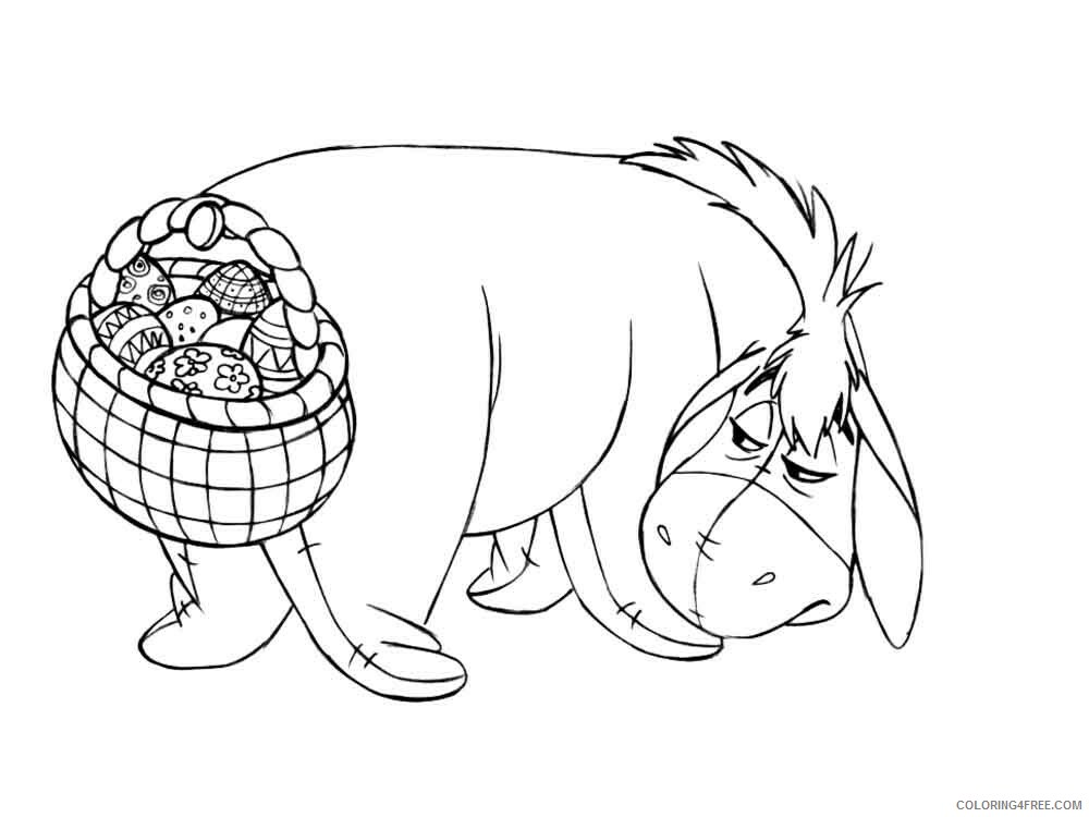 Disney Easter Coloring Pages Holiday disney easter 4 Printable 2021 0172 Coloring4free
