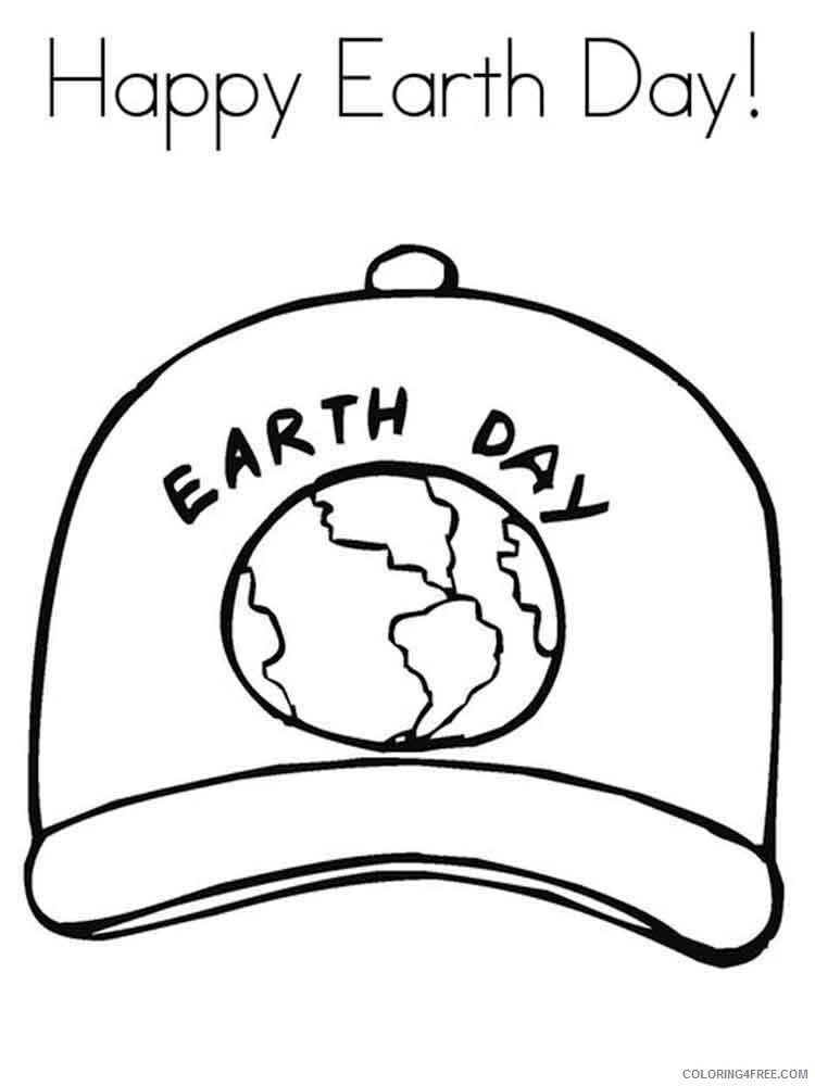 Earth Day Coloring Pages Holiday Earth Day 8 Printable 2021 0198  Coloring4free - Coloring4Free.com