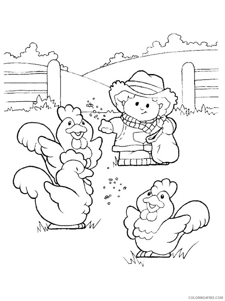Farm Coloring Pages for Kids Farm 9 Printable 2021 213 Coloring4free