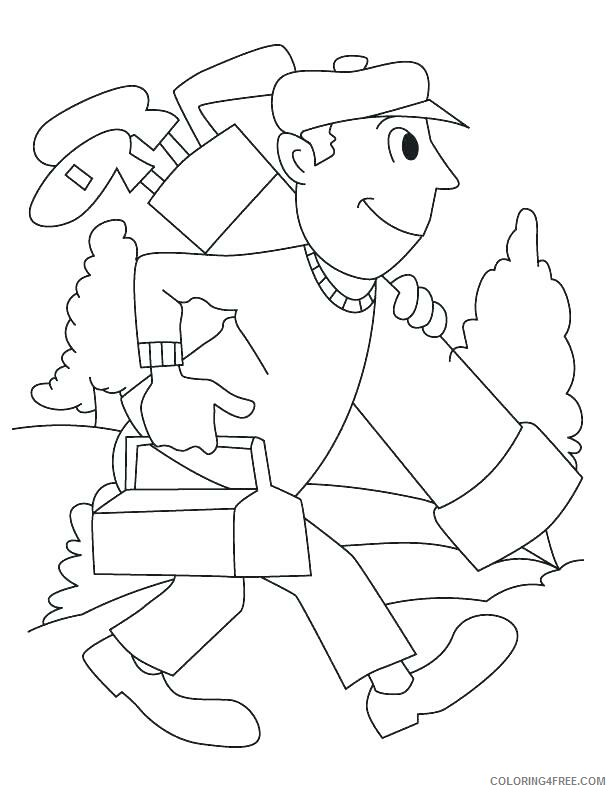 Golf Coloring Pages for Kids Playing Golf Printable 2021 310 Coloring4free