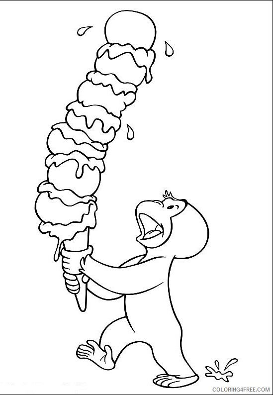 Ice Cream Coloring Pages for Kids Ice Cream for Free Download Printable 2021 387 Coloring4free