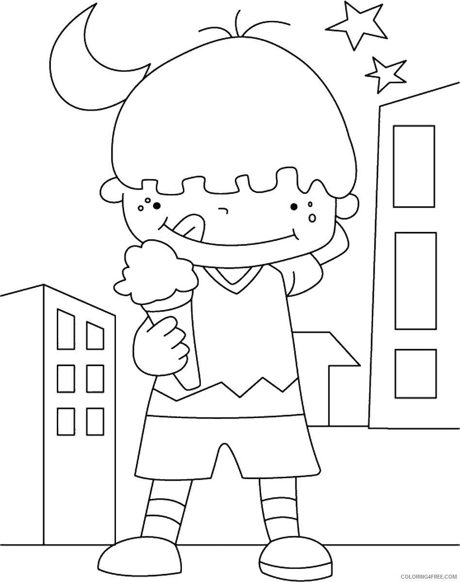 Ice Cream Coloring Pages for Kids icecream_04 Printable 2021 361 Coloring4free