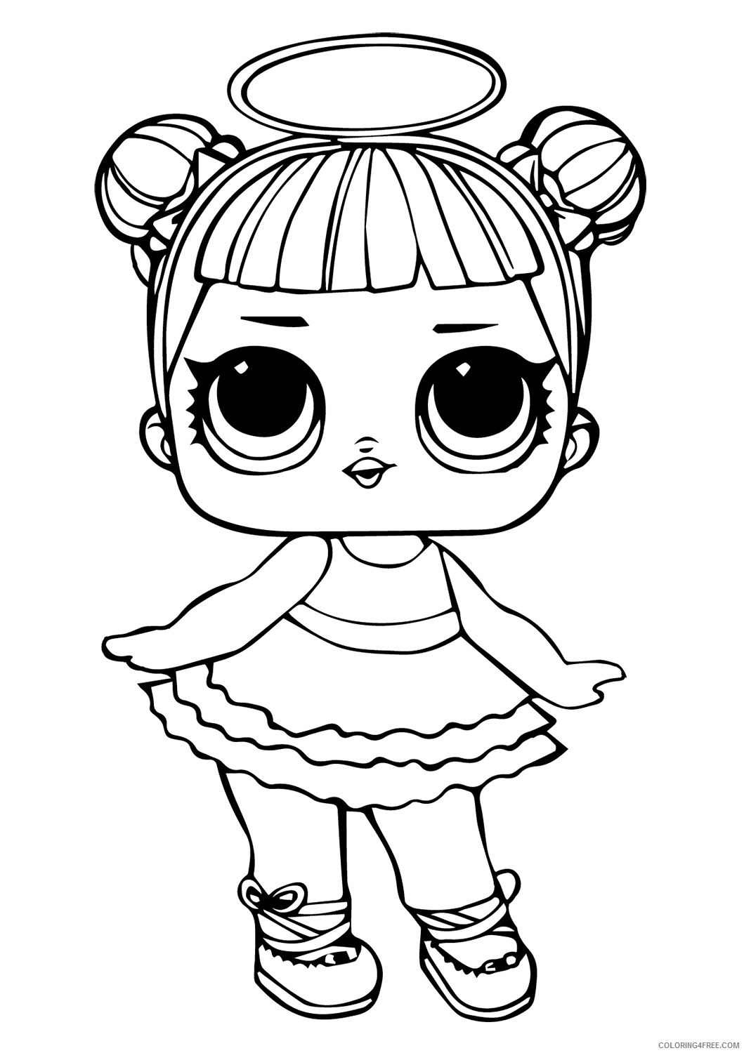 LOL Dolls Coloring Pages for Girls lol doll sugar Printable 18 ...
