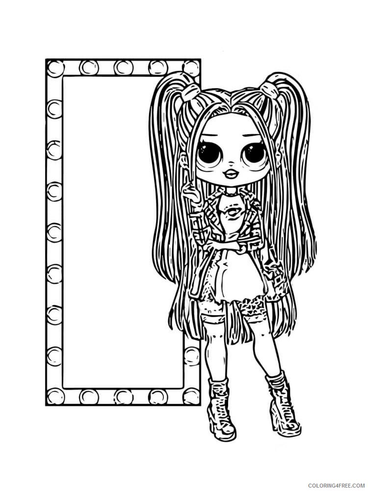 Lol Omg Coloring Pages For Girls Lol Omg 7 Printable 2021 0851 Coloring4free Coloring4free Com