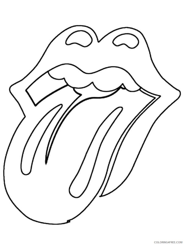 Lips Coloring Pages for Kids lips 8 Printable 2021 434 Coloring4free