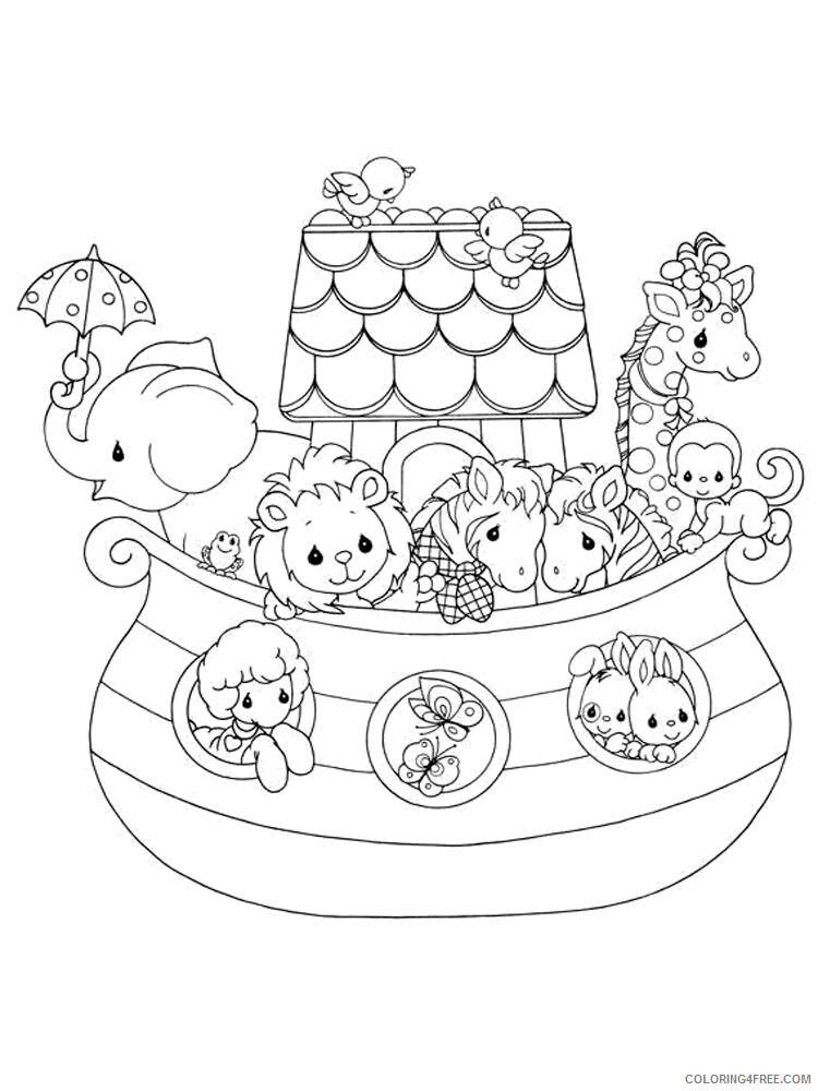 Noahs Ark Coloring Pages for Kids Noahs Ark 3 Printable 2021 472 Coloring4free