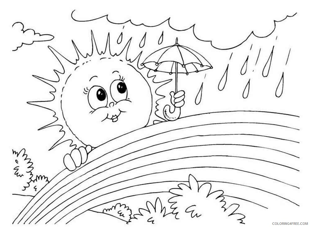 Rainy Day Coloring Pages for Kids Rainy day 5 Printable 2021 507 Coloring4free