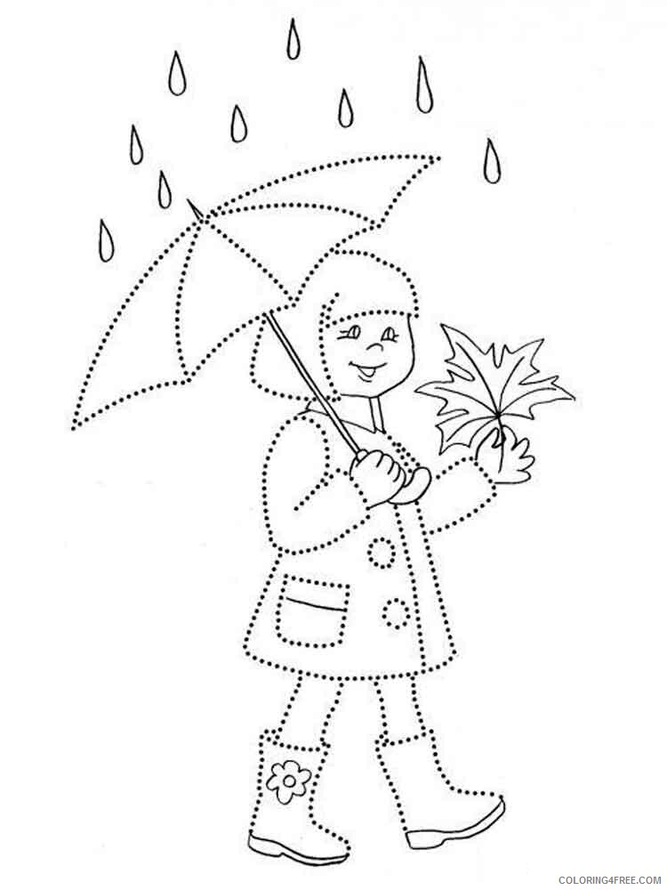 Rainy Day Coloring Pages for Kids Rainy day 7 Printable 2021 509 Coloring4free