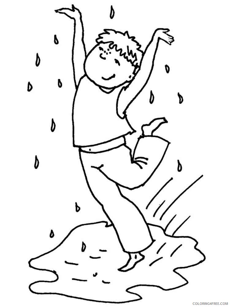 Rainy Day Coloring Pages for Kids Rainy day 8 Printable 2021 510 Coloring4free