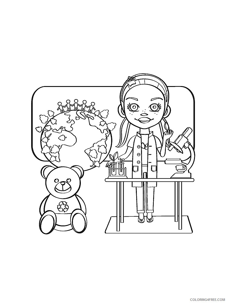 Scientist Coloring Pages for Kids Scientist 12 Printable 2021 516 Coloring4free