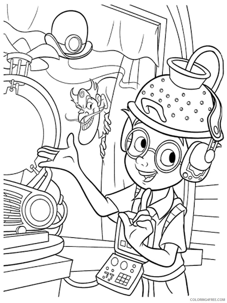 Scientist Coloring Pages for Kids Scientist 16 Printable 2021 519 Coloring4free