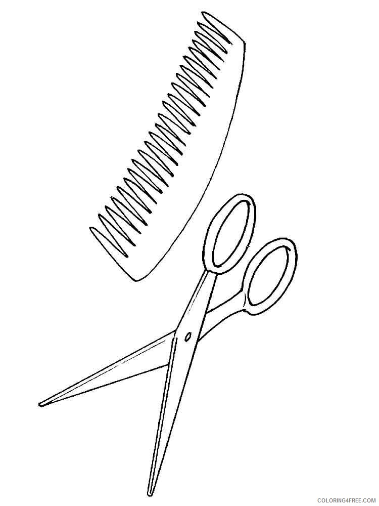 Scissors Coloring Pages for Kids scissors 3 Printable 2021 527 Coloring4free