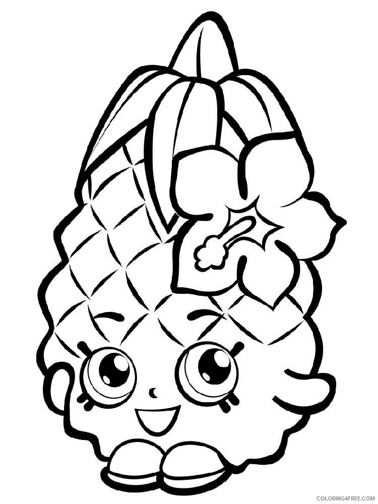 Shopkins Coloring Pages For Girls Shopkins 28 Printable 2021 1272  Coloring4free - Coloring4Free.com