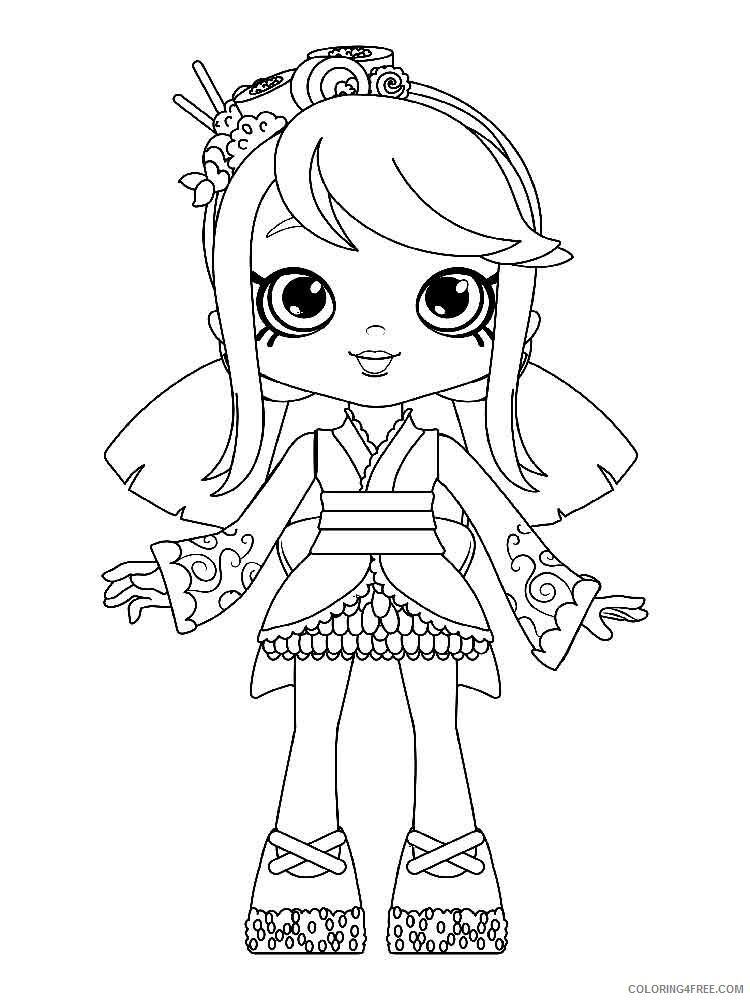 Shopkins Coloring Pages For Girls Shopkins 30 Printable 2021 1275  Coloring4free - Coloring4Free.com