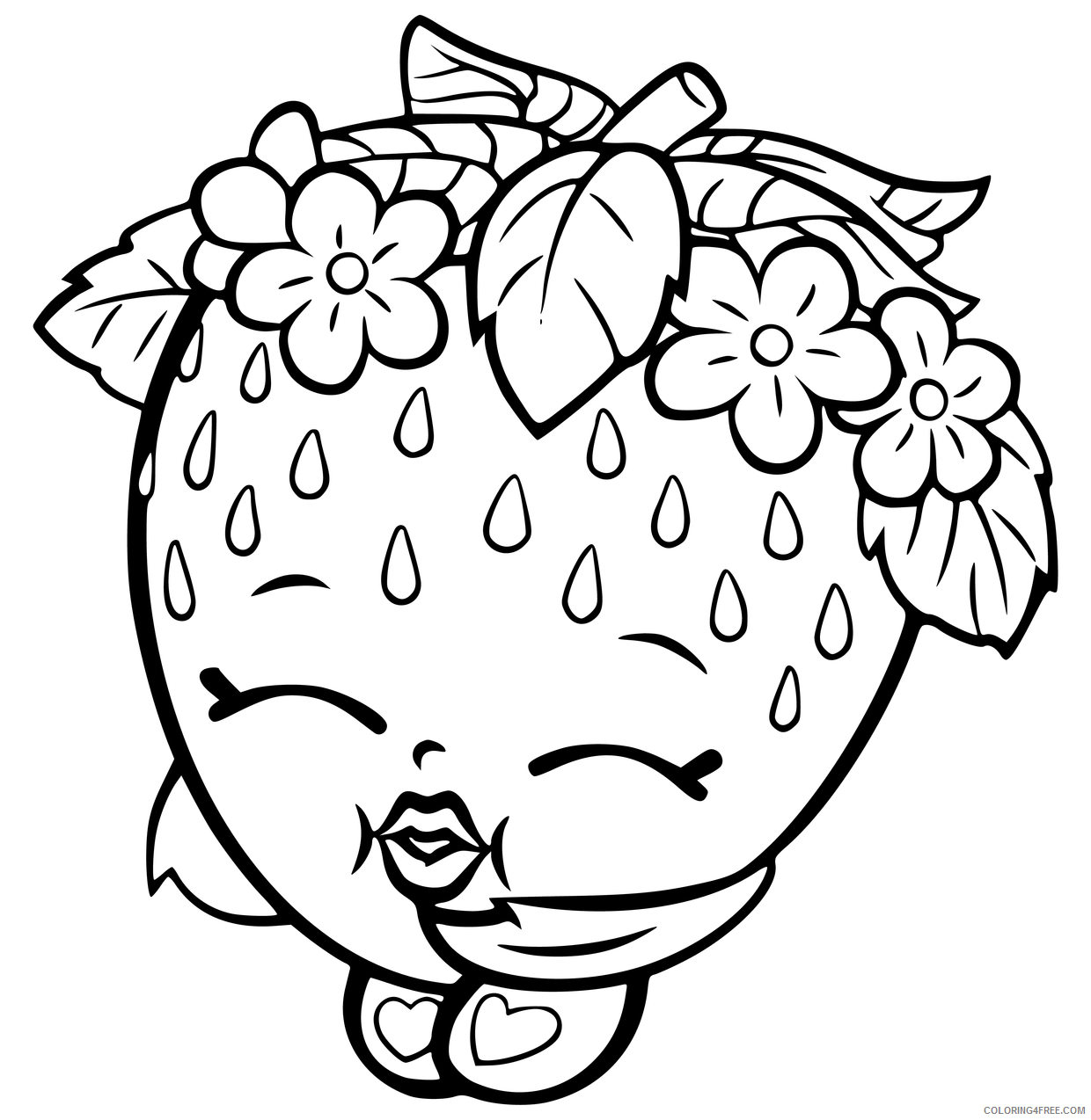 Shopkins Coloring Pages for Girls Shopkins Images Printable 2021 1301  Coloring4free - Coloring4Free.com