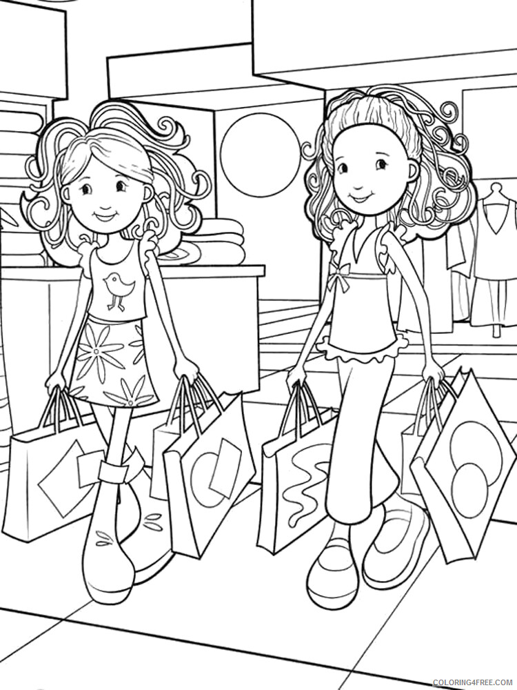 Shopping Coloring Pages for Kids Shopping 1 Printable 2021 542 Coloring4free