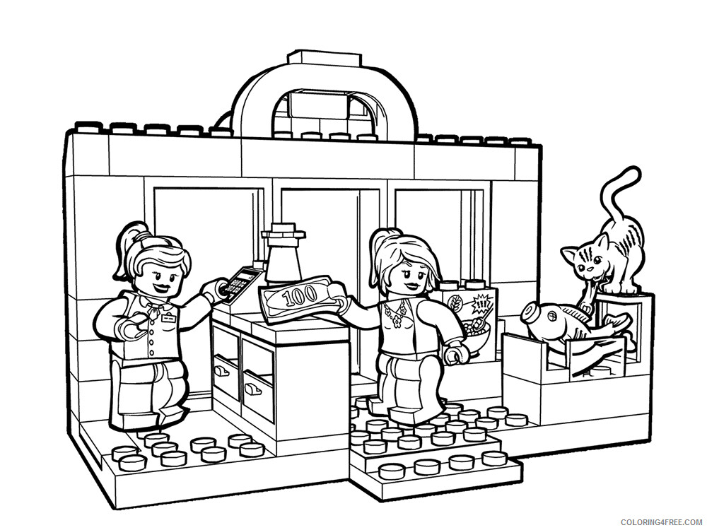 Shopping Coloring Pages for Kids Shopping 10 Printable 2021 543 Coloring4free
