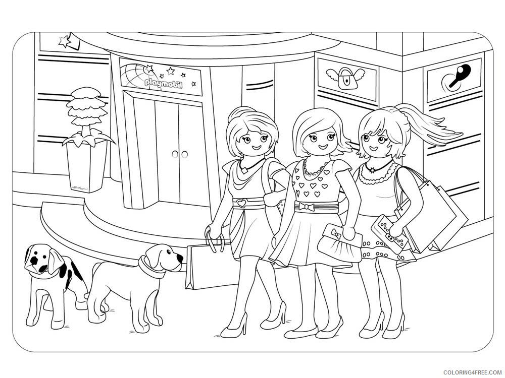 Shopping Coloring Pages for Kids Shopping 13 Printable 2021 544 Coloring4free