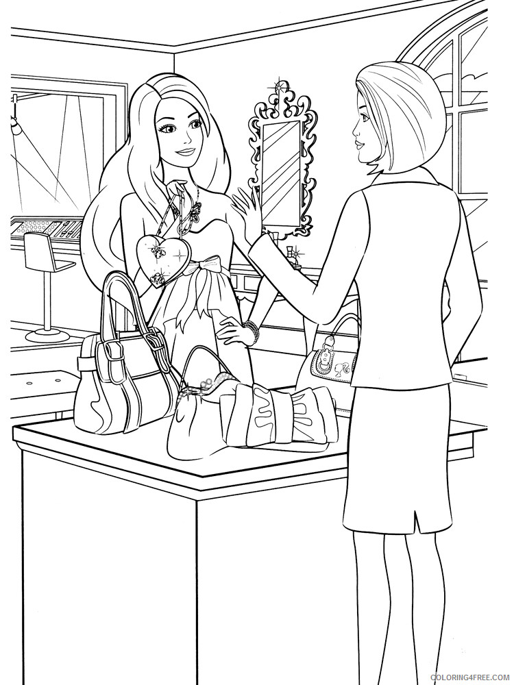 Shopping Coloring Pages for Kids Shopping 14 Printable 2021 545 Coloring4free