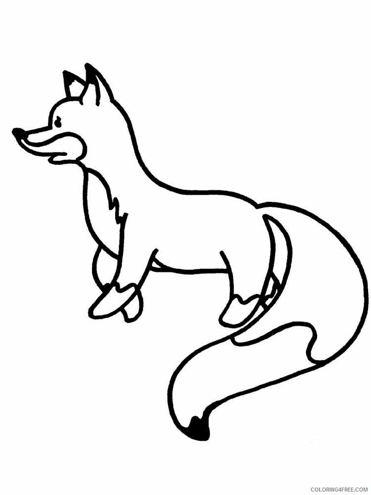 Simple Coloring Pages for Kids Simple 15 Printable 2021 570 Coloring4free