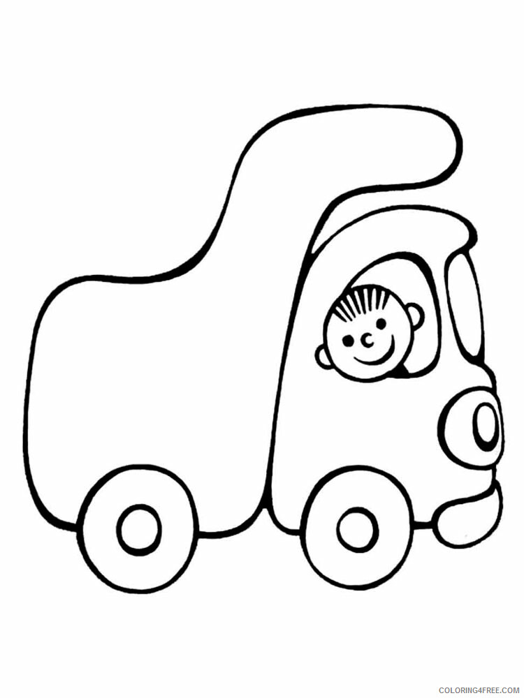 Simple Coloring Pages for Kids Simple 28 Printable 2021 577 Coloring4free