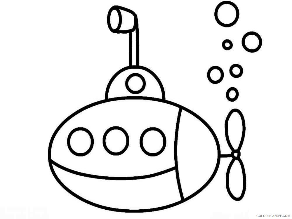 Simple Coloring Pages for Kids Simple 44 Printable 2021 586 Coloring4free