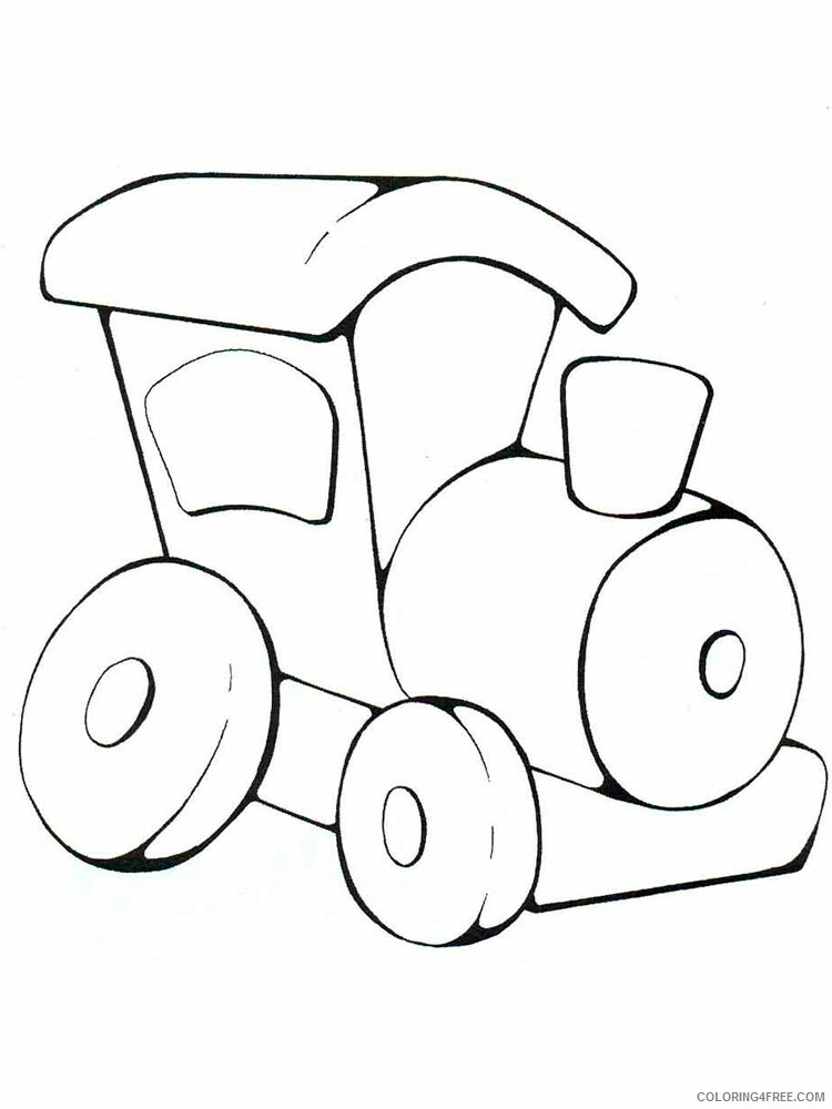 Simple Coloring Pages for Kids Simple 48 Printable 2021 587 Coloring4free