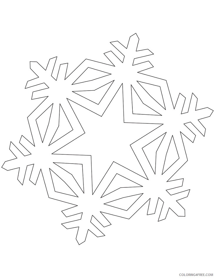 Simple Coloring Pages for Kids simple crystal Printable 2021 557 Coloring4free